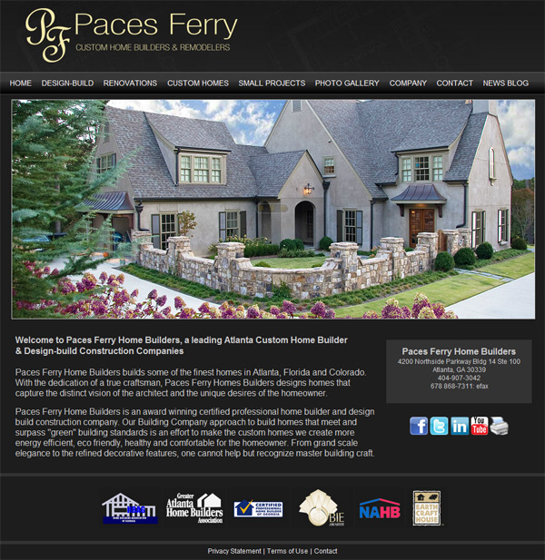 Paces Ferry Home Builders